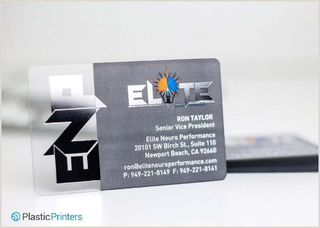 Unique Silver Plastic Business Cards 50 Cool Metallic Business Cards