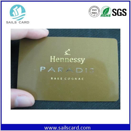 Unique Silver Plastic Business Cards Golden Silver Background Plastic Business Membership Card With Magnetic Stripe