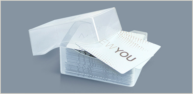 Unique Silver Plastic Business Cards Morningprint