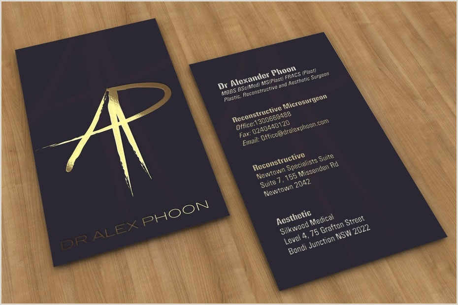 Unique Simple Business Cards 38 Unique Business Cards That Will Make You Stand Out