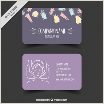 Unique Spa Business Cards Free Spa Business Card