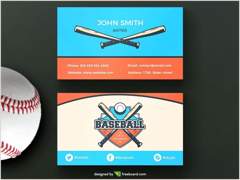 Unique Sport Business Cards Baseball Baseball Business Business Card