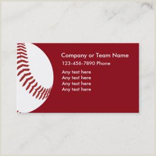 Unique Sport Business Cards Baseball Baseball Business Cards Business Card Printing