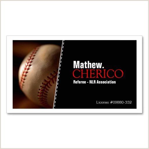 Unique Sport Business Cards Baseball Baseball Business Cards Zazzle