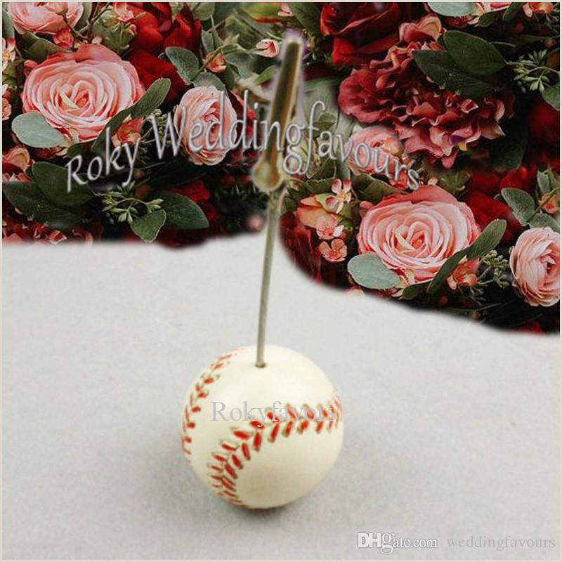 Unique Sport Business Cards Baseball Sports Theme Baseball Place Card Holder Party Favors Birthday Party Table Setting Shower Anniversary Party Decors Name Clip Birthday