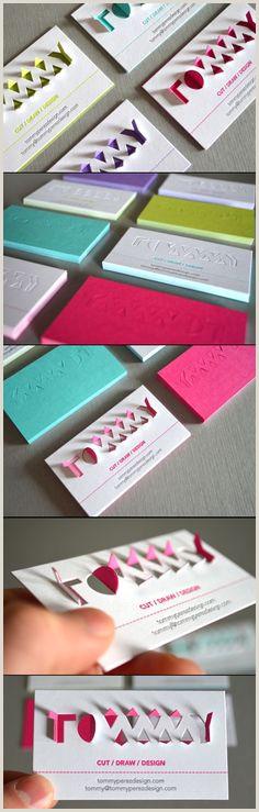 Unique Style Cutout Business Cards 100 Best Business Card Design Inspiration Images