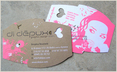 Unique Style Cutout Business Cards 30 Cool Die Cut Business Cards Worth Checking Out