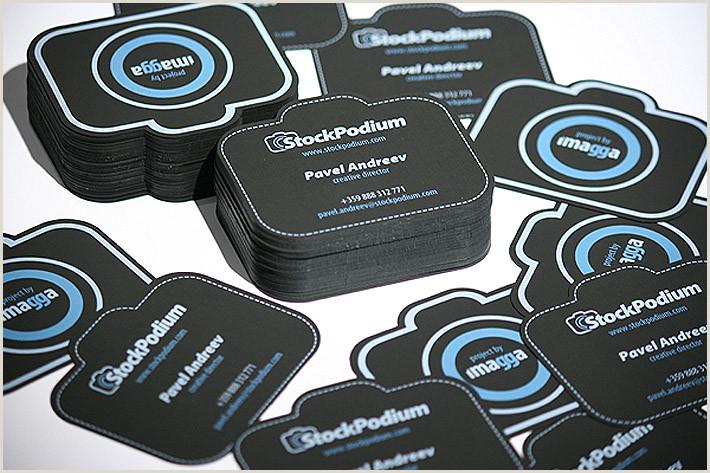 Unique Style Cutout Business Cards 50 Bizarre & Brilliant Business Card Designs