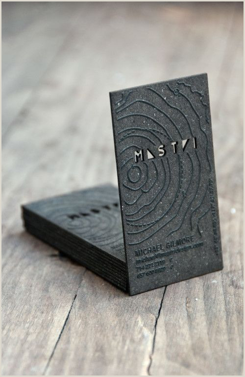 Unique Style Cutout Business Cards Pin On Resume