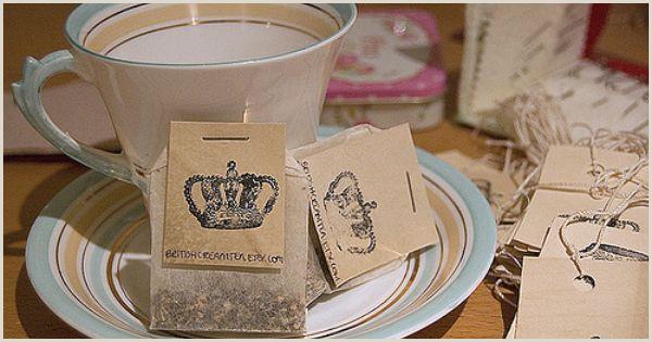 Unique Tea Shop Business Cards Tea Bag Business Cards