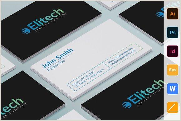 Unique Tech Business Cards Tech Startup Business Card