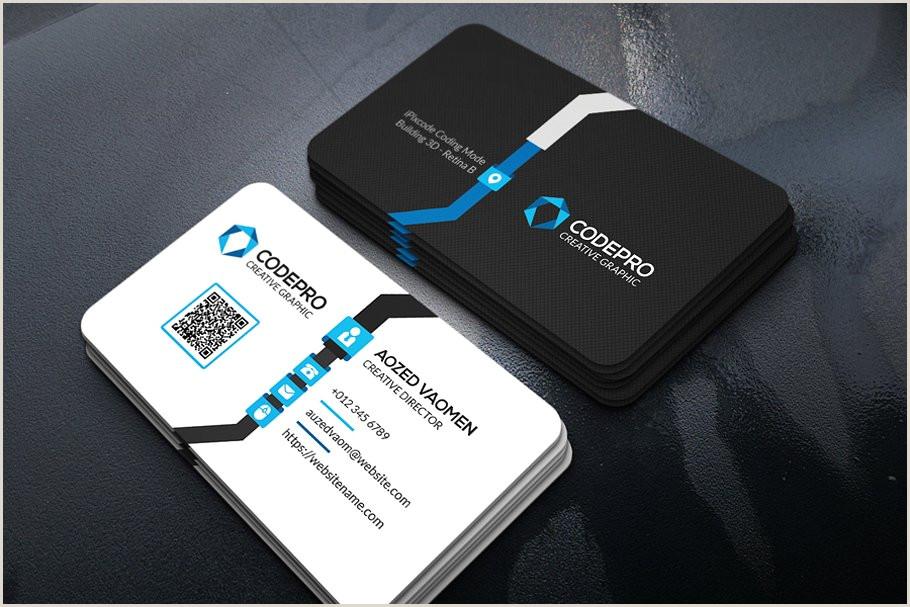 Unique Tech Business Cards Technology Business Card