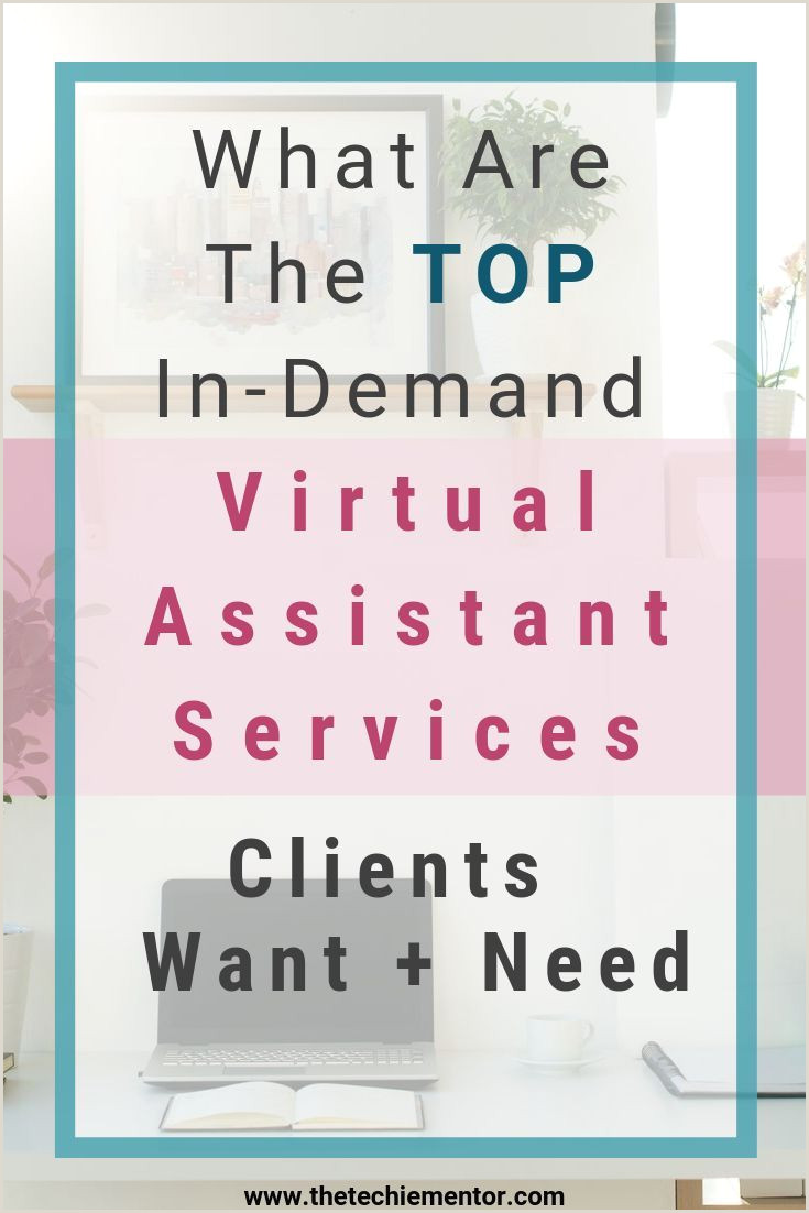 Unique Virtual Assistant Business Cards The Techie Mentor Shares Tips To Help You Start Launch And