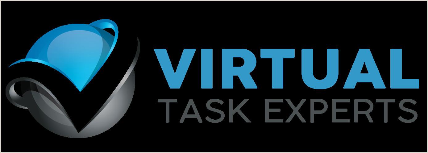 Unique Virtual Assistant Business Cards Virtual Task Experts
