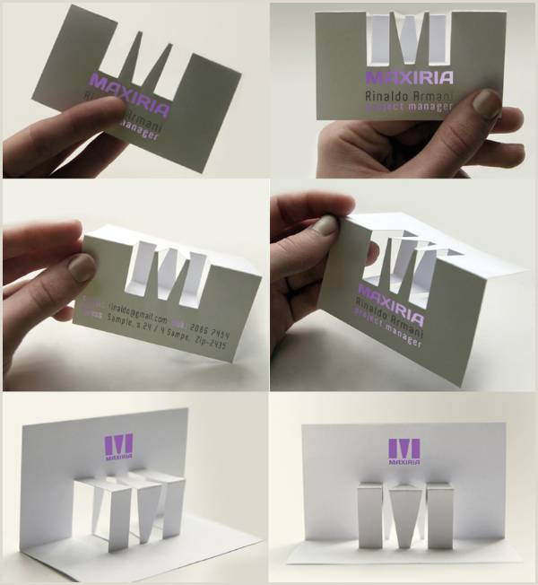 Unique Ways To Hold Business Cards 10 Most Innovative Business Card Designs For Inspiration