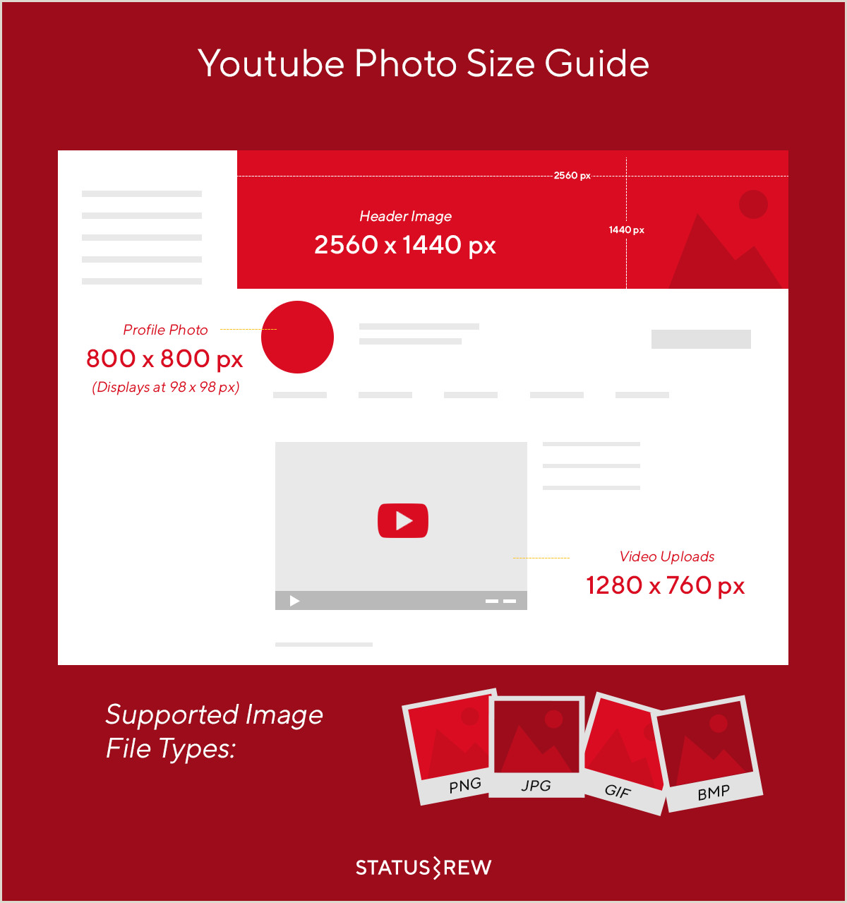 Use Best Business Cards To Design Youtube Etc Headers Youtube Image Size