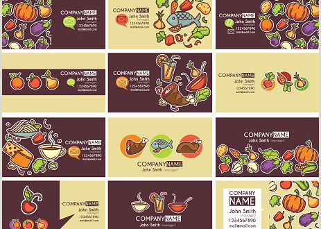 Useful Business Cards Business Cards Templates and Frames Stock Illustration Download Image now