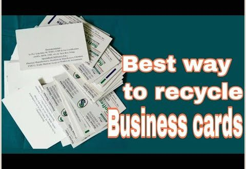 Uses for Old Business Cards Best Use Old Business Cards Diy Art Lovers