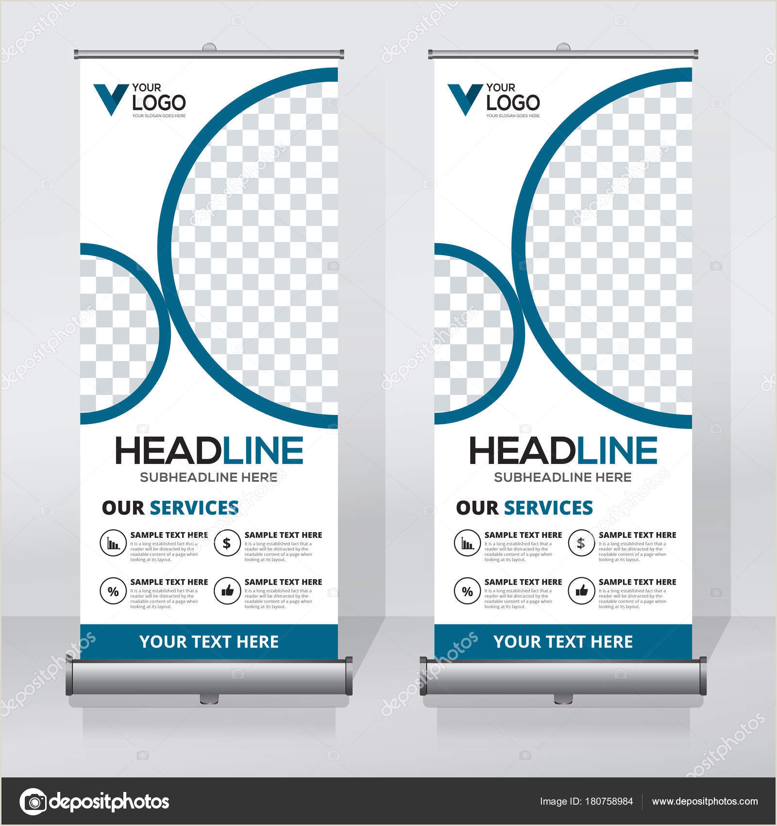 Vertical Banner Dimensions Roll Up Banner Design Template Vertical Abstract Background Pull Up Design Modern X Banner Rectangle Size
