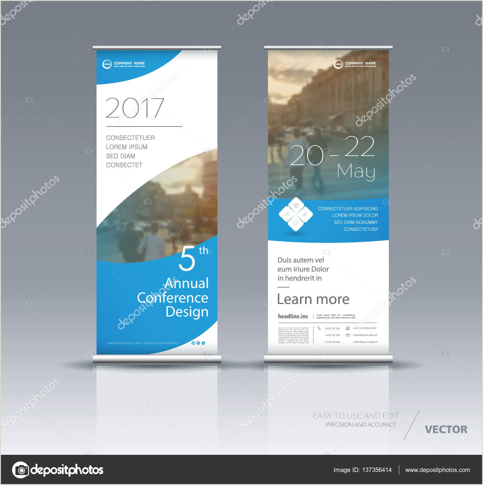 Vertical Banner Dimensions Vertical Banner Template Design