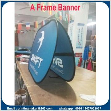 Vertical Banner Holder China Manufacturer Of Pop Up Display Pop Up Banner Stand