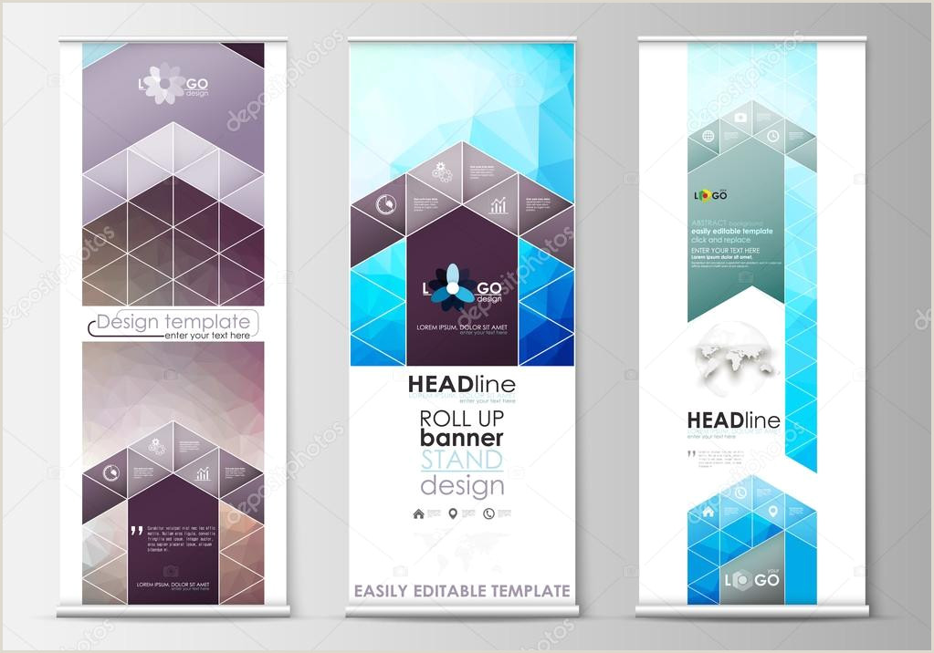 Vertical Banner Stands Vertical Stand Stock Vectors Royalty Free Vertical Stand