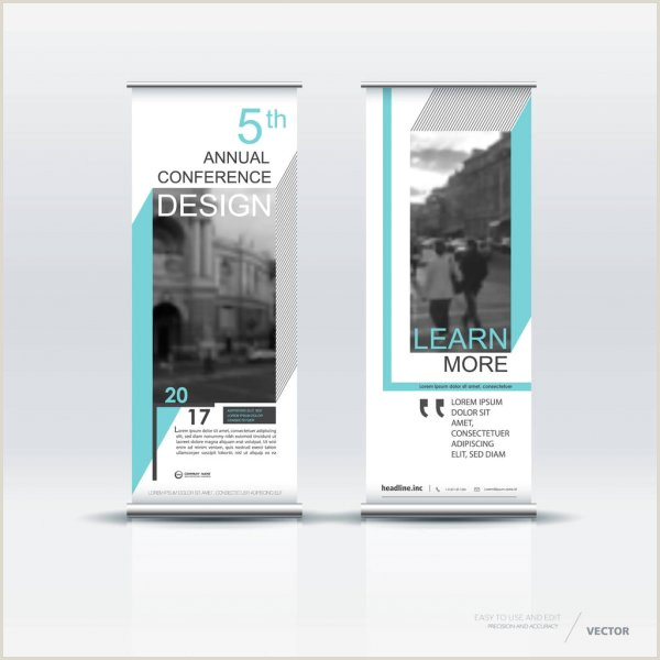 Vertical Banners Design Vertical Banner Template Design — Stock Vector © Vector S