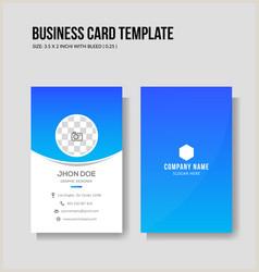 Vertical Business Card Design Visiting Card Vertical Vector Over 650