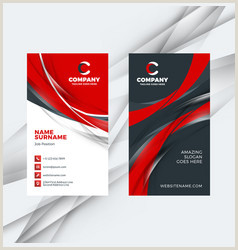 Vertical Business Card Designs Vertical Business Card Vector Over 10 000