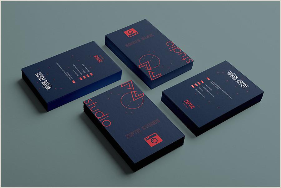 Vertical Business Card Designs Vertical Business Cards 20 Inspirational Designs