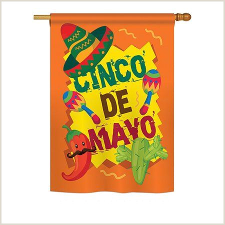 Vertical Scroll Banner Cinco De Mayo Country & Primitive Everyday Impressions