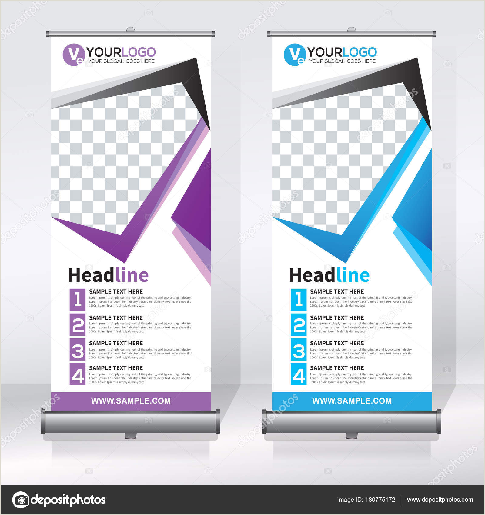Vertical Scroll Banner Roll Up Banner Design Template Vertical Abstract Background Pull Up Design Modern X Banner Rectangle Size