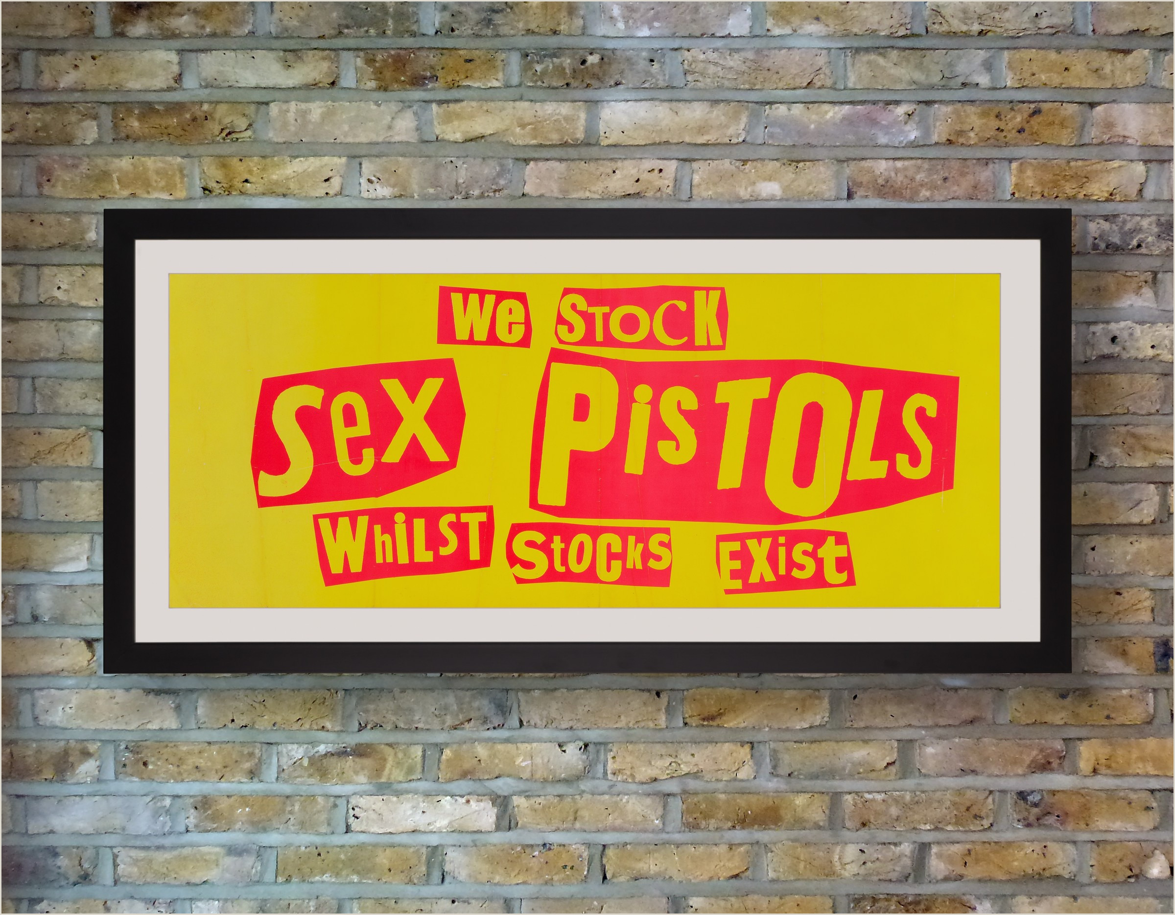 Vertical Signs And Banners Jamie Reid The Pistols 1977