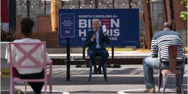 Vertical Signs and Banners the Latest Scenes From the 2020 Campaign Trail