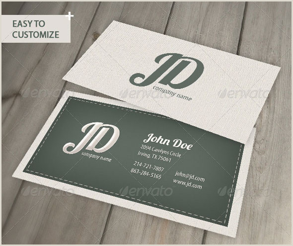 Vintage Business Cards Templates Free 25 Cool Psd Retro & Vintage Business Card Templates