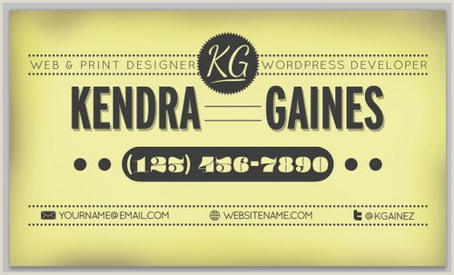 Vintage Business Cards Templates Free 40 Free And Premium Vintage Retro Style Business Card