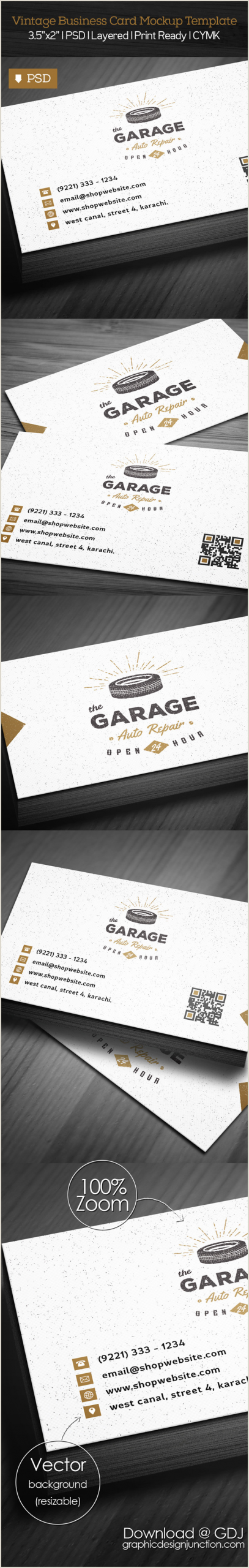 Vintage Business Cards Templates Free Free Vintage Business Card Psd Template Freebies