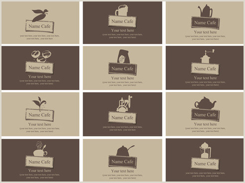 Vintage Business Cards Templates Free Vintage Style Business Card Free Vector 41 871
