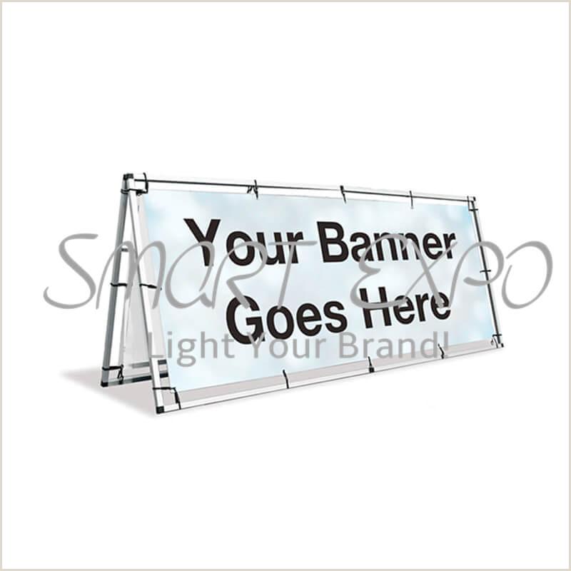 Vinyl Banner Holder 2020 Outdoor Monsoon A Frame Banner 100 250cm With Sliver
