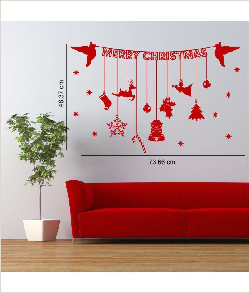 Vinyl Table Banner Asian Paints Christmas Banner With Hanging Decoration Ornaments Festive Festive Pvc Sticker