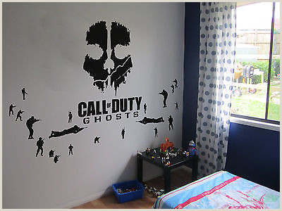Vinyl Table Banner Call Of Duty Ghosts Wall Art Vinyl Now With 20 Sol Rs