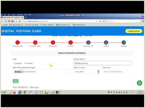 Visit Card Online Digital Visiting Card