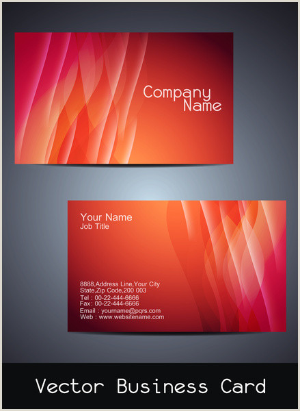 Visit Cards Design Visiting Card Design Free Vector In Encapsulated Postscript