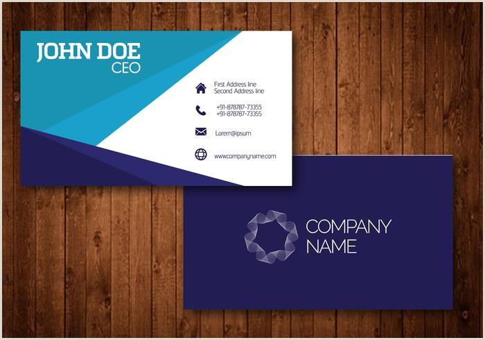 Visit Cards Designs Card Visit Design Free Vector Art 74 486 Free Downloads