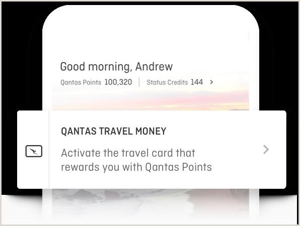 Visit Cards Qantas Travel Money Card