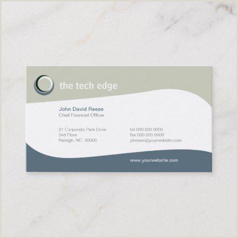 Visit Cards Tech Curves Business Card Zazzle