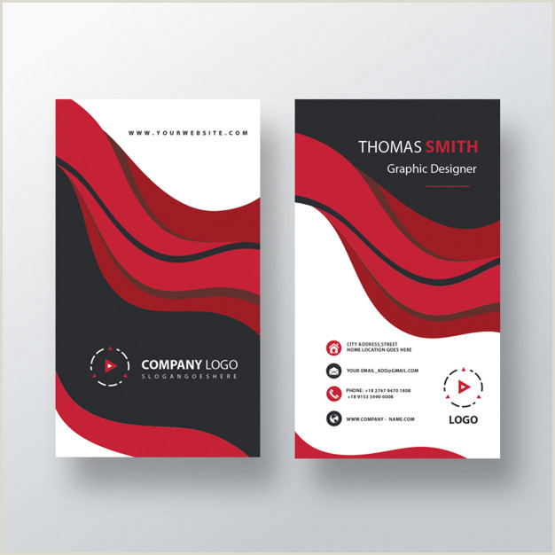 Visit Cards Template Free Psd