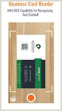 Visiting Cards Business Card Scanner & Reader Free Card Reader – Apps On