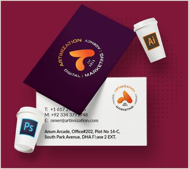 Visiting Cards Designs Custom Business Cards Design Pricing 2020