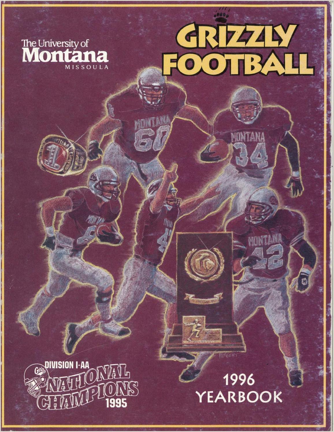 Vista Print Outdoor Banner 1996 Football Media Guide By University Of Montana Athletics